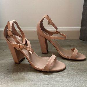 Nude/Peach Heels